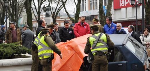 Autoridades presencian simulacro