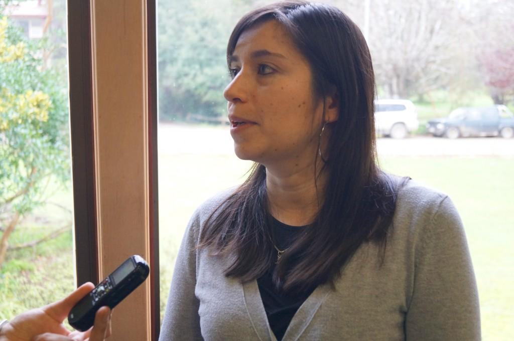 Foto 3 - Alejandra Vera, relatora del Programa Tus Competencias en Ciencia TCC