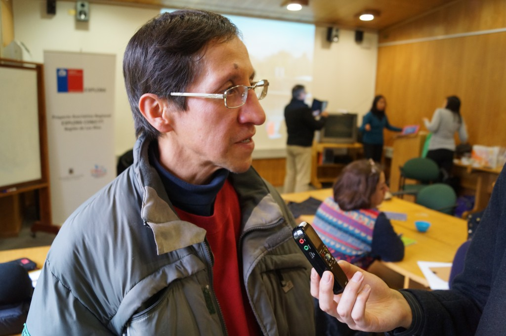 Foto 4 - José Shwenke, Centro educativos Fernando Santiván de Panguipulli.